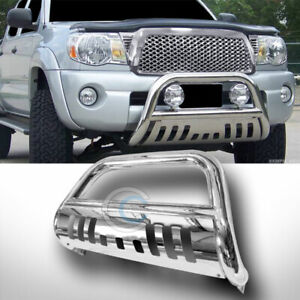 Fit 08 10 Jeep Grand Cherokee Chrome S S Bull Bar Brush Push Bumper Grille Guard