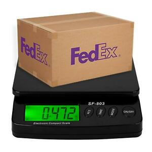 55lb X 0 1oz Digital Postal Shipping Scale Weight Postage Counting 2x Battery