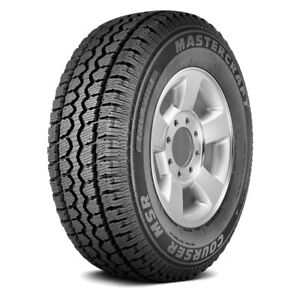 2 New Mastercraft Courser Msr Lt265 70r17 121 118q E 10 Ply Winter Tires