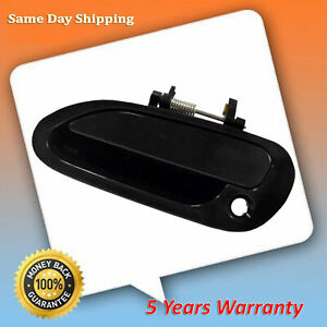 For 1998 2002 Honda Accord Smooth Black Front Left Driver Outside Door Handle