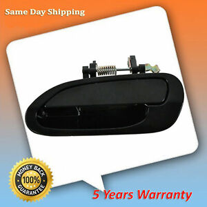 For 98 99 2002 Honda Accord Smooth Black Rear Left Driver Outside Door Handle