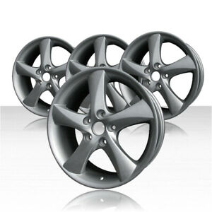 Revolve 17x7 Silver Wheel For 2003 2007 Mazda 6 set Of 4