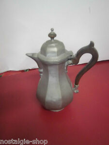Antique Old Pewter Mug Solid Rarity Tin Metal Art Handmade