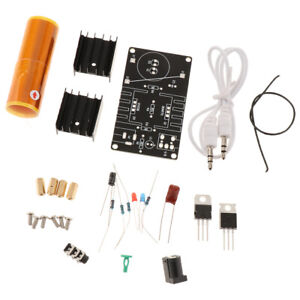 1pcs Diy Mini Music Tesla Coil Kit Wireless Transmission Education Model