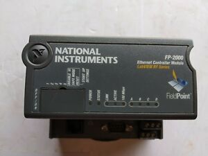 National Instruments Fp 2000 Ethernet Controller Module Labview Rt Series