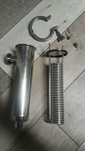 Condenser 1 2 L 316 Stainless Steel 1 Sanitary Fittings