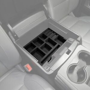 Fits Chevy Tahoe 15 19 Vehicle Organizer Insert Full Center Console Glove Box