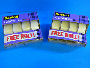 Scotch Tape 3m 3 4 X 325 Inches 8 Rolls Strong Secure Gift Wrap New Free Ship