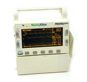 Welch Allyn Propaq Encore Vital Signs Monitor 226 Option Nibp Spo2 Ecg With Batt
