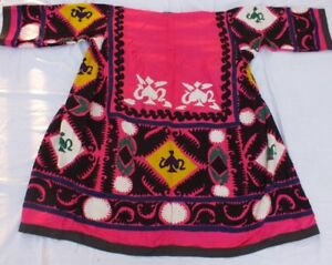 C 131 Chapan Made From Uzbek Vintage Suzani From 80 S Xl