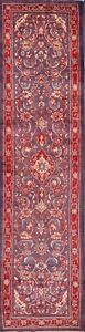 Palace Size Vintage Floral Runner 4x14 Sarouk Persian Oriental Rug 13 11 X 3 6