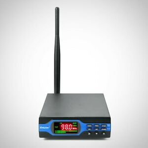 Home Fm Transmitter With Antenna For Small Radio Station Long Range Broadcast
