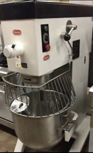 Used Berkel Dd 60 60 Quart Variable Speed Commercial Mixer With Accessories