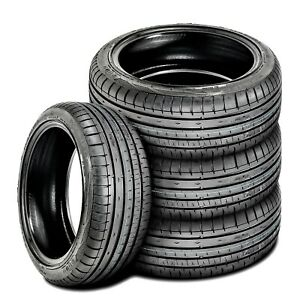 4 New Accelera Phi r 215 45r17 Zr 91w Xl A s High Performance All Season Tires