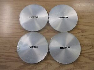 Factory 1990 To 1992 Mazda Mpv Center Caps Hubcaps For 14 Inch Alloy Wheel