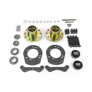 Fits Ford Mustang 1966 1969 Disc Brake Conversion Hub And Bracket Kit