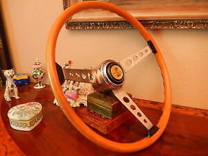 Shelby 67 Gt350 Steering Wheel Effpi Original 1967 Nos New