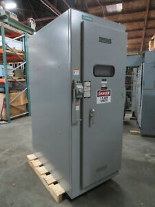 Siemens Qr Hvl 15 Kv 600 Amp Load Break Current Interrupter Switch 13 8kv Pif