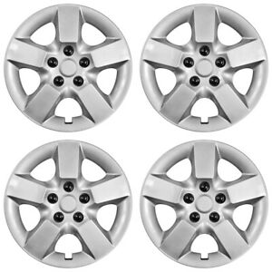 New Set Of 4 16 Wheel Covers Full Rim Snap On Hub Caps For 2008 15 Nissan Rogue