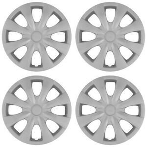 15 Set Of 4 Wheel Covers Snap On 8 Spoke Full Hub Caps Fit R15 Tire