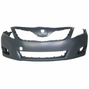 Front Bumper Cover For 2010 2011 Toyota Camry Japan Built Primed Plastic Capa