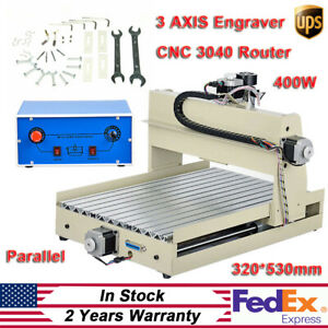 3 Axis 3040 Cnc Router 0 4kw Spindle Engraving Cutting Milling Machine Desktop