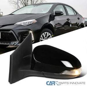 For Toyota 14 18 Corolla Power Heated 7 Pin Driver Side Mirror turn Signal Lamp