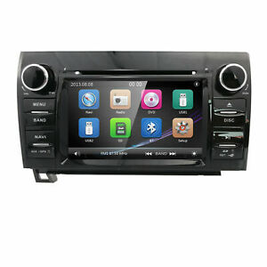 For Toyota Tundra 2007 2013 Sequoia Stereo Gps Navi 7 In Dash Car Dvd Player