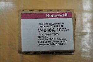 Honeywell V4046a 1074 Delayed Oil Valve