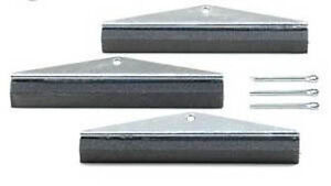 3 Arm Replacement Stones For Engine Cylinder Hone 40 Grit 4 Long X 5 8 Wide