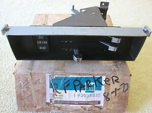 Nos 1967 68 Chevy Truck C K 10 20 30 Dash Heat Control Unit Wo ac Gm 3934832