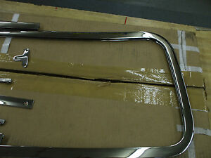 1939 46 Chevy Gmc Truck New Chrome Plated Windshield Frame L K
