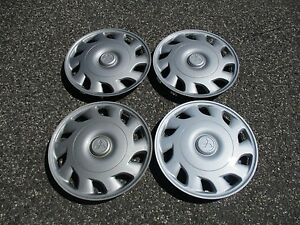 Factory 1992 To 1997 Mitsubishi Galant 14 Inch Hubcaps Wheel Covers Set
