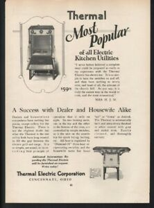 1925 Thermal Electric Stove Oven Range Kitchen Grill Cook Food 20240
