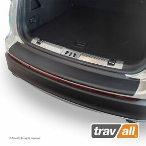 Travall Rear Bumper Protector Fit For Ford Edge 2014 2019 Smooth Plastic