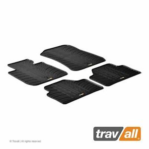 Travall Car Floor Mats All Weather Rubber Liner For Bmw E84 X1 2009 2015