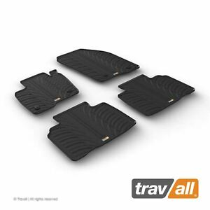 Travall Car Floor Mats All Weather Rubber Liner For Ford Edge 2014 On