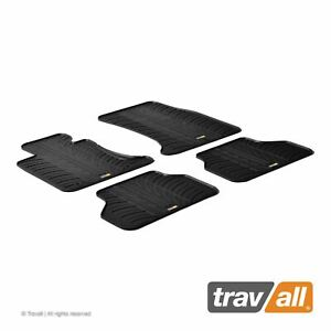 Travall Car Floor Mats All Weather Rubber Liner For Bmw 5 03 10 Touring 04 10