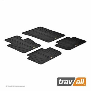 Travall Car Floor Mats All Weather Rubber Liner For Bmw E83 X3 2003 2010