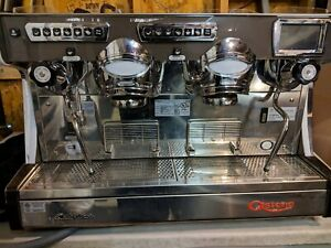 Astoria Sabrina 2 Group Commercial Espresso Machine With Cool Touch Steam Wands