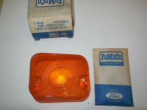 Nos 1966 1967 Ford Falcon Parking Lamp Lens Rh C6dz 13208 a