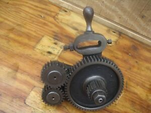 Cincinnati Lathe Forward And Reverse Tumbler Level And Gears