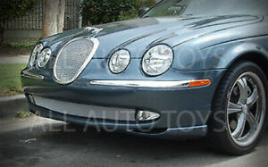Bottom Lower Bumper Mesh Grille For The Jaguar S Type Years 1999 Through 2004
