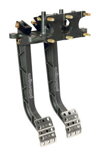 Wilwood 340 11299 Reverse Swing Mount Brake Clutch Pedals Triple Master Cylinder