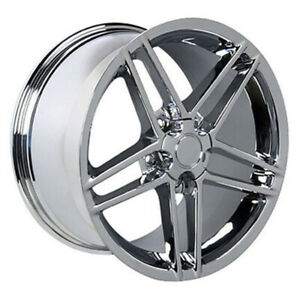 Chrome Wheel 18x9 5 For 1993 2002 Chevy Camaro Owh0106