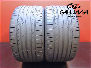 2 Two Tires Excellent Continental 315 35 20 Contisportcontact 5 Runflat 49178