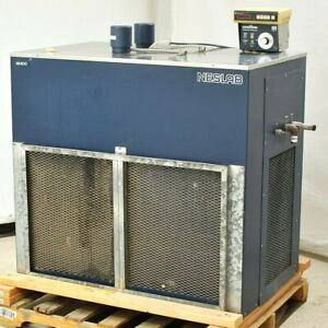 Neslab Hx 500 Heated refrigerated Recirculating Water Chiller Air cooled 480v