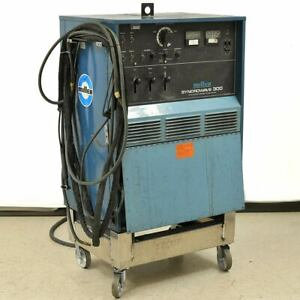 Miller Syncrowave 300 Ac dc Gtaw Smaw Tig Welding Power Source 300a 460 230v 1ph