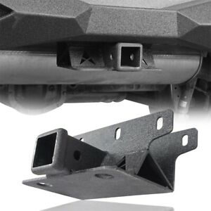 Rear Bumper 2 Bolt on Towing Trailer Hitch Receiver For Jeep Wrangler Jl 18 20