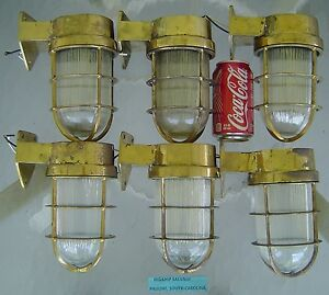 6 Maritime Passageway Lights Antique Maritime Lighting New Usa Wiring